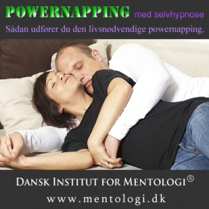 Powernapping med selvhypnose